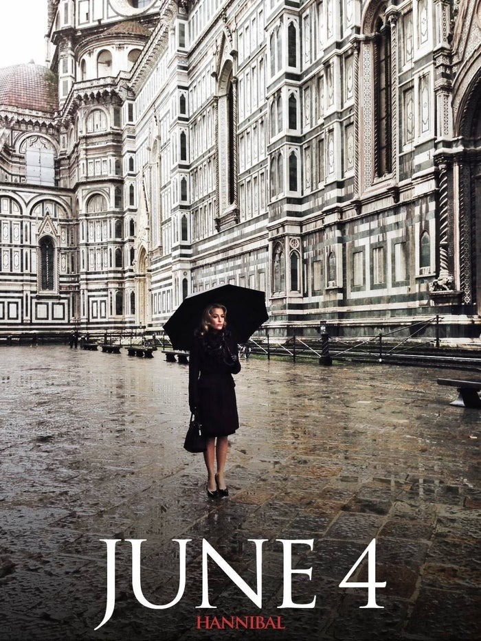5. A new location This new season of Hannibal sees the cast showing up in a new location... namely, Florence, Italy. Hannibal's production team has been hard at work capturing Italy's fine architecture and Mad Mikkelsen's even finer facial features.