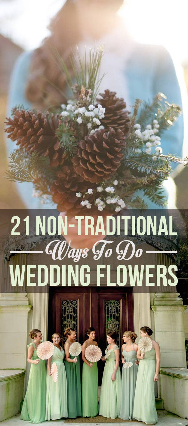 21 stunning nontraditional wedding bouquets share on facebook share izmirmasajfo