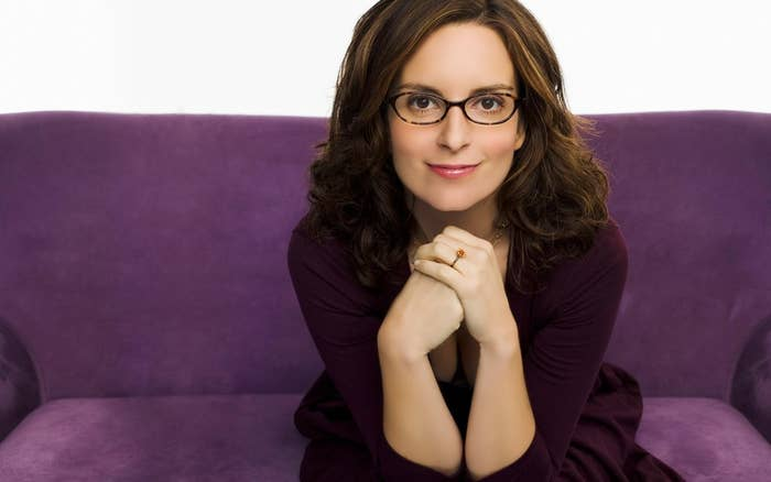 """I don't wear glasses because I want to look like Tina Fey. I wear glasses because I can't see through my eyes."""