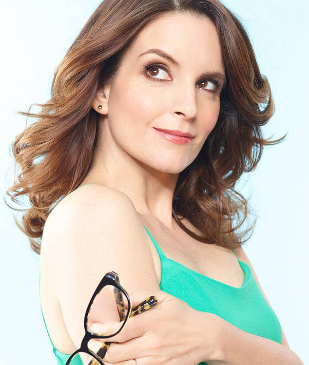"""Sometimes I like to take my glasses off and hold them near my arm, but that doesn't mean I'm Tina Fey."""