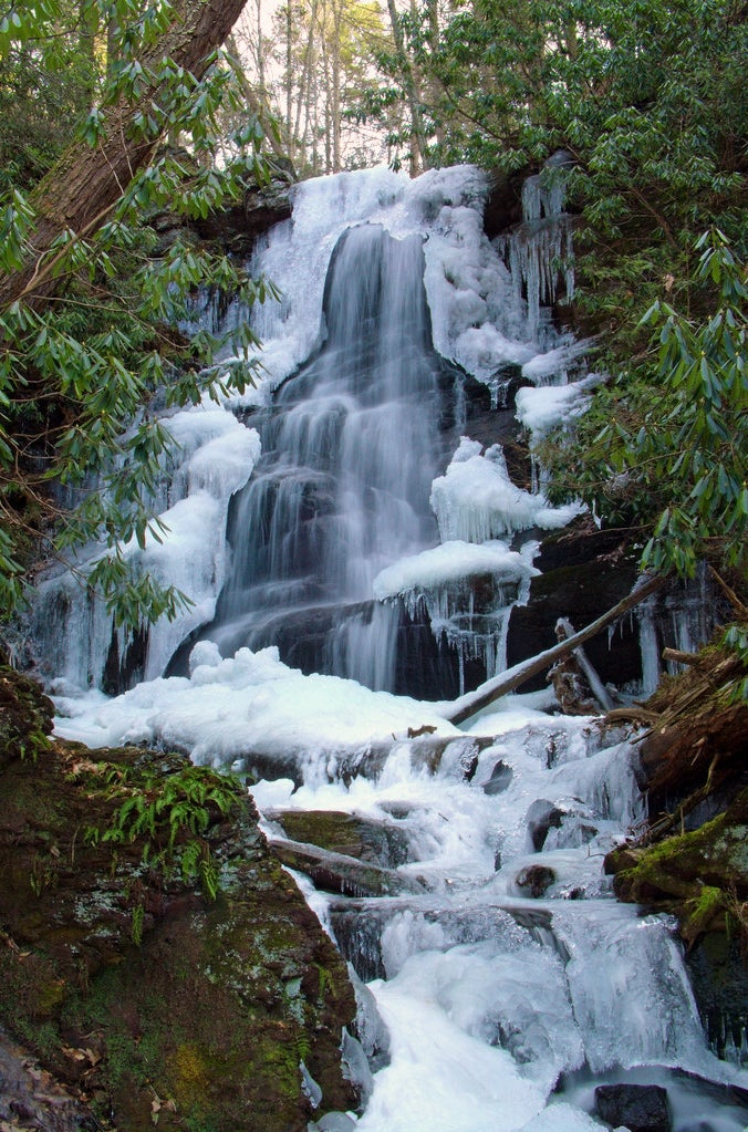 Silver Spray Falls in Sussex County