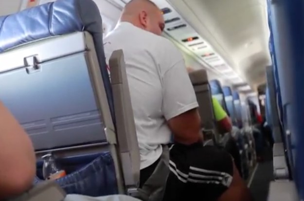 This Video Of A 6-Foot-8 Guy Boarding A Plane Perfectly