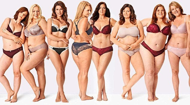 """Curvy Kate stated,""""We make beautiful lingerie and swimwear that looks amazing on a wide range of figures and sizes, so we want models who represent this."""""""