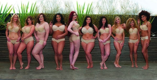 """The original campaign was quietly swept under the rug after receiving backlash over comparing runway female bodies to average women.A UK-based lingerie brand, Curvy Kate has challenged the """"ideal"""" body type by reworking the controversial VS ad. The brand wants to be representative of """"real"""" women encompassing all body types.For this purpose, Curvy Kate has used a diverse group of women to show how utterly ridiculous Victoria's Secret """"Perfect Body"""" campaign is."""