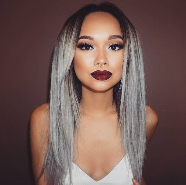 Here is every little detail on how to dye your hair gray grannyhair has officially taken over the internet as the coolest hair trend solutioingenieria Gallery