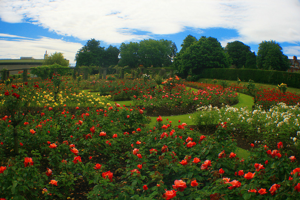 Sir Thomas and Lady Dixon Park, South Belfast, Northern Ireland