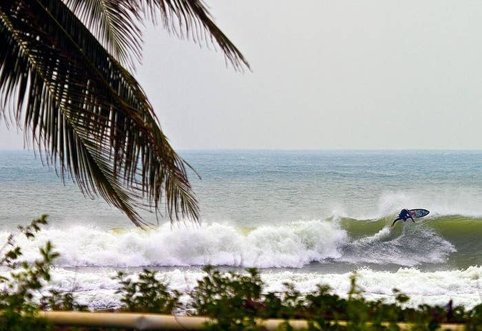 China isn't typically known for its surfing, but that's the appeal of this spot. With tropical beaches and consistent, uncrowded waves, this is another perfect surfing getaway for those who aren't searching for the biggest waves around.