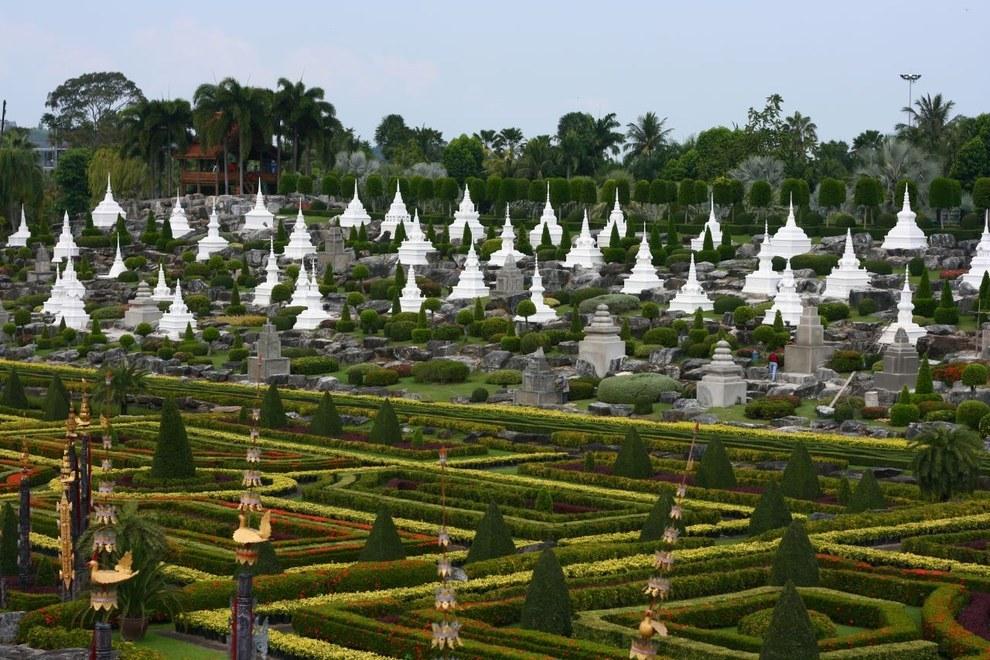 Nong Nooch Tropical Botanical Garden, Chonburi, Thailand