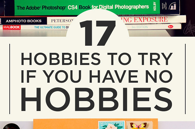 17 hobbies to try if you suck at hobbies for Crafts and hobbies ideas