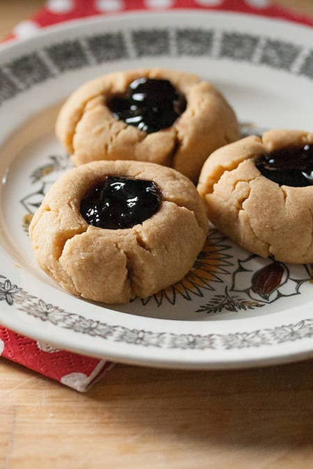 Because Peanut Butter and Jelly are a classic flavor combination. Recipe here.