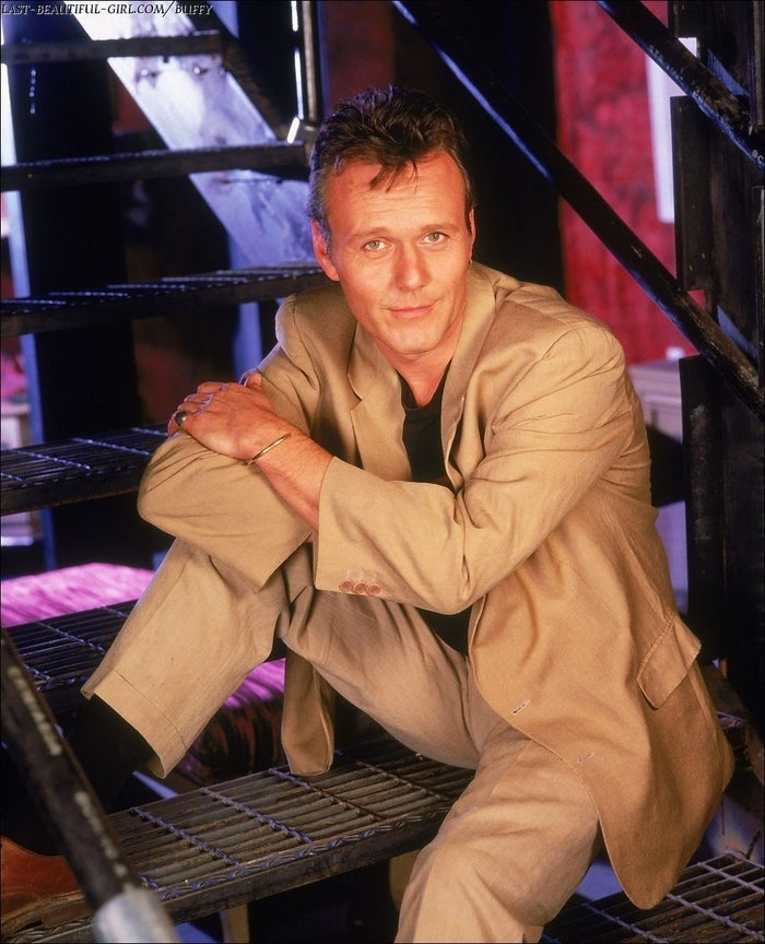 Whenever I watch Buffy, it really bothers me that everyone ignores Giles as if he weren't the hottest guy in the show.