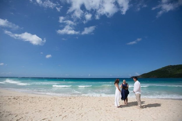After all, who wants to get married in a tropical paradise?