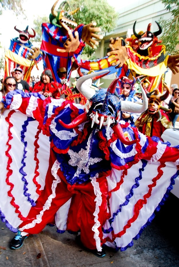 There are festivals and parties full of colors and traditions all around the island almost every weekend.