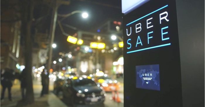 "The custom prototype, called ""Uber Safe"", was rolled out for a few nights in Tdot last month."