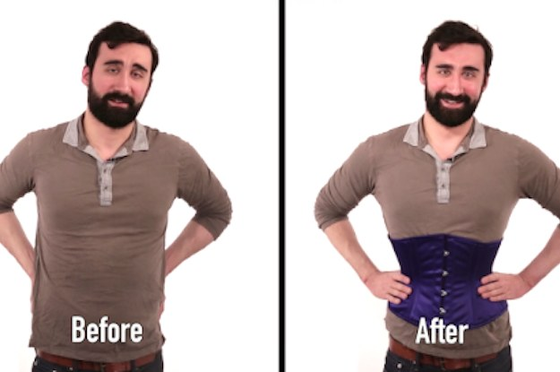 ad1c12f42e Guys Try Waist Training For The First Time And It s Hilarious