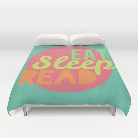 Get the duvet cover here here.