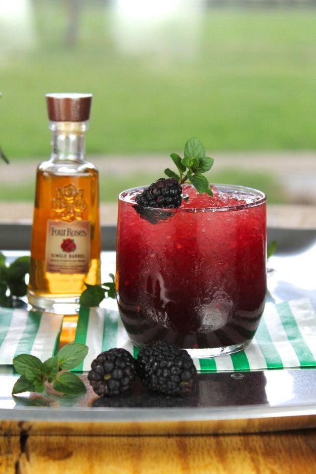 Keep it seasonal with some blackberries. Find it here.