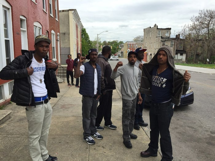 Good times in Gray's neighborhood after State's Attorney Mosby announced charges against six officers.