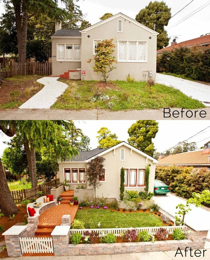 curb appeal ideas for small front yards raised ranch style homes pinterest whether sell give home spring refresh simple long