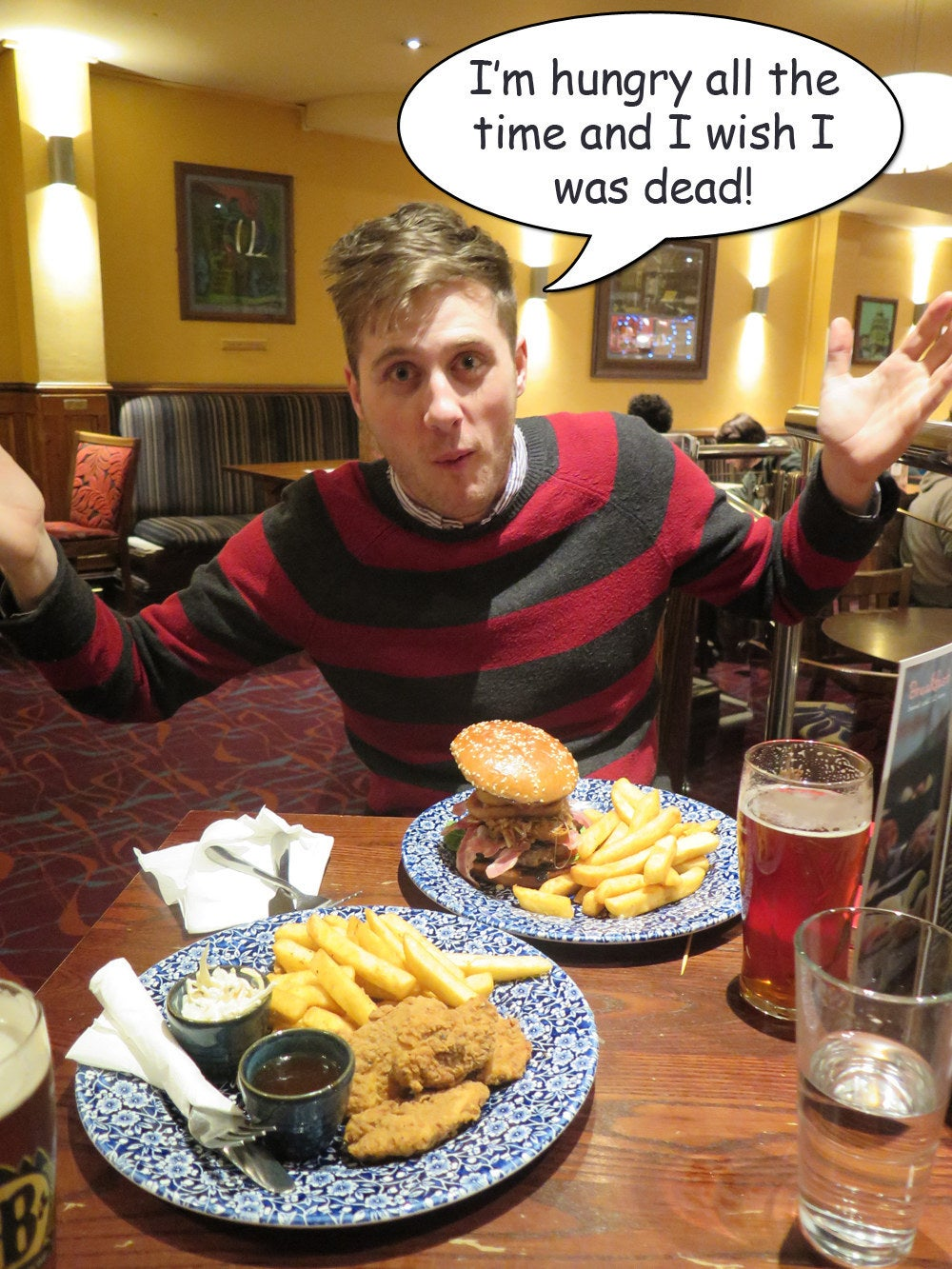 I Ate Exclusively At Wetherspoon S For A Week And This Is