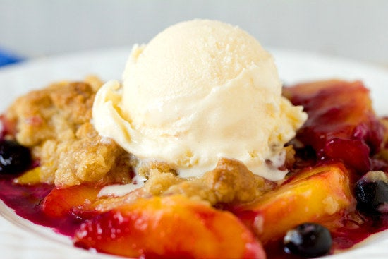 There's no taste quite like the mix of cold ice cream melting onto a hot, crumbly crust. Recipe here.