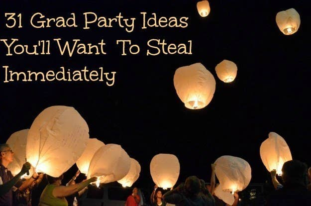 31 Grad Party Ideas Youll Want To Steal Immediately