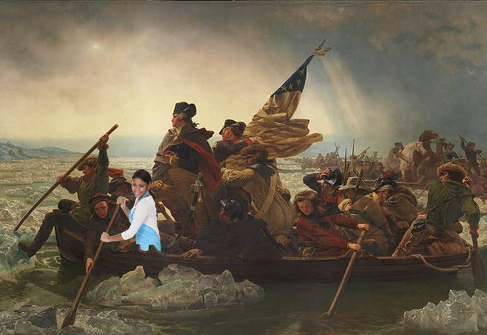 Most moms don't cotton to rebelliousness, but luckily George Washington's mother didn't mind. If she hadn't packed her son's entire brigade a PB&J sandwich and an apple for lunch, they would never have had the energy to cross the Delaware.