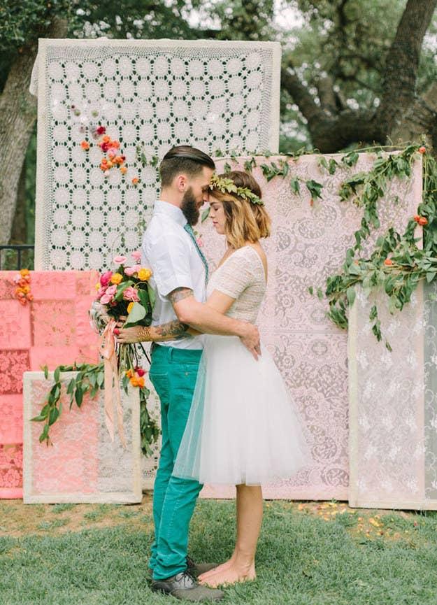 21 Stunning Diy Wedding Photo Booth Backdrops