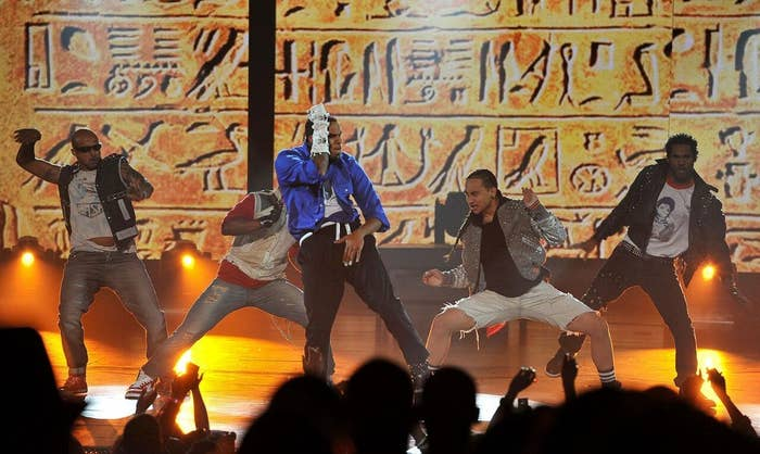 To honor the King of Pop, Chris Brown rocked our worlds in 2010 with some of Michael Jackson's greatest hits and signature moves.