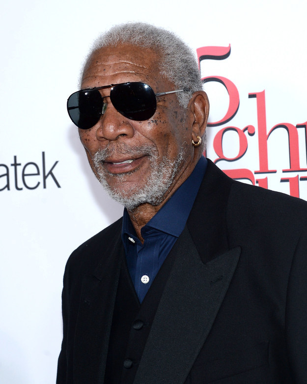 After a 1997 car crash left Morgan Freeman's arm, shoulder, and elbow shattered, the actor admits that marijuana has been his medicine of choice to ease the pain.