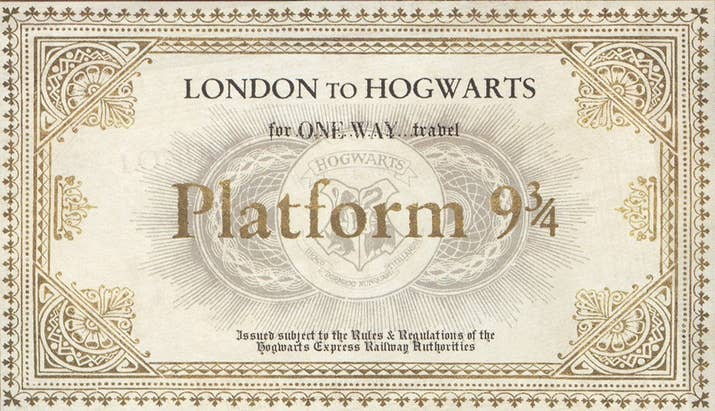How to create your own hogwarts letter why not include your hogwarts express ticket too spiritdancerdesigns Gallery