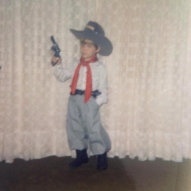 No Rio Grande do Sul, todo menino já foi para a escola com trajes típicos.