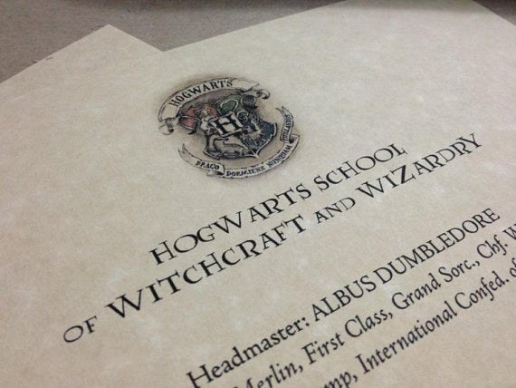How To Create Your Own Hogwarts Letter