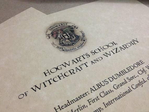 How to create your own hogwarts letter find the template for your hogwarts letter and school supplies list here add your name spiritdancerdesigns Gallery