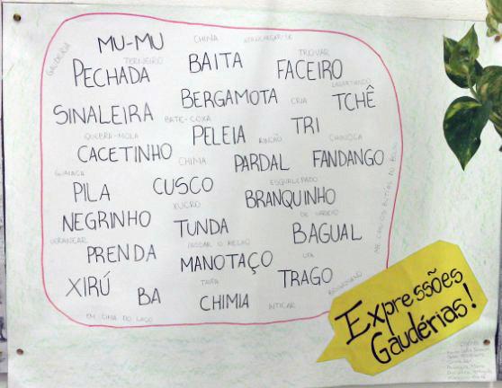 Para nossa sorte, todas estas palavras fazem parte do Brasil.