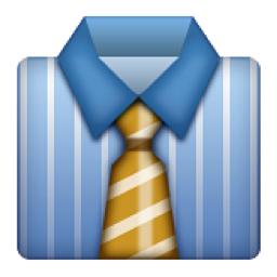 Resultado de imagen para emoticon corbata