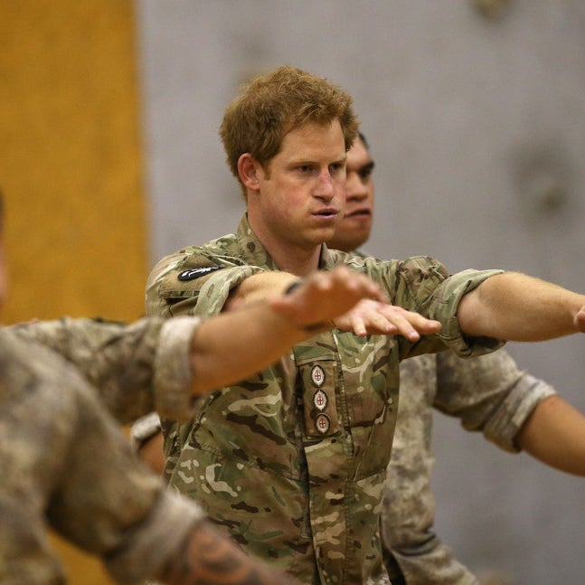 Prince Harry Got Taught The Haka And Is Officially Badass