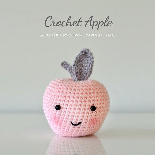 Si no sabes cómo crochet ... ¡APRENDA! Él es tan lindo. Completo tutorial (y patrón) en Down Grapevine Lane.