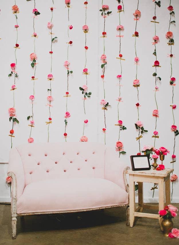 1 Fresh Flower Wall