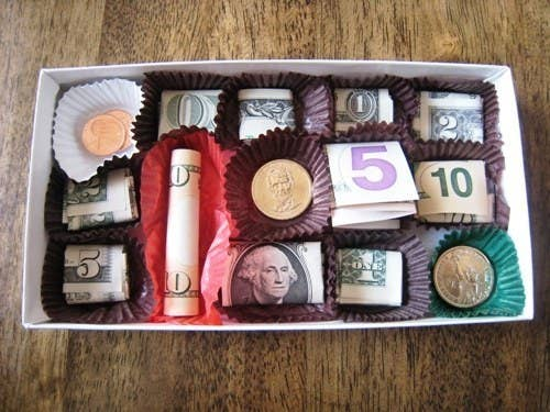 Creative Ways To Give Money For Christmas Present.21 Surprisingly Fun Ways To Give Cash As A Gift