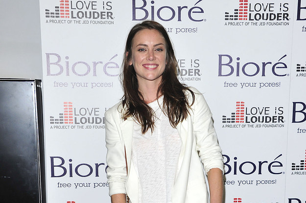 Jessica Stroup At The Biore Skincare & Love Is Louder Project Event