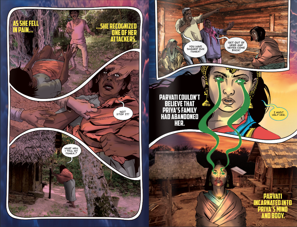 A Comic Book About A Rape Survivor Turned Superhero Is Spreading Awareness About Rape In India