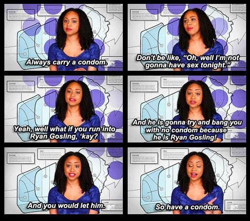 why do condoms get stuck inside of you