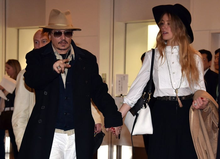 """Speaking to ABC this morning, Australian Minister for Agriculture Barnaby Joyce confirmed the very real possibility that Depp's dogs are killed:""""If he doesn't take Boo and Pistol back we do have to euthanise them... Just because he's Johnny Depp doesn't make him exempt from Australian laws."""""""