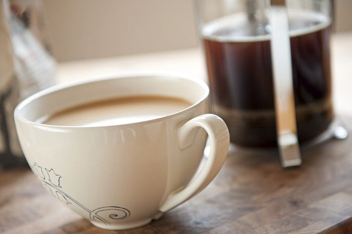 If you brew your coffee with water that's too hot, you'll extract more bitter compounds leaving you with a less than ideal cup. But it doesn't have to go to waste – just add a tiny bit of salt. Sodium ions from the salt will stop you tasting the bitterness when the coffee reaches your tongue. Sounds counterintuitive, but it works.