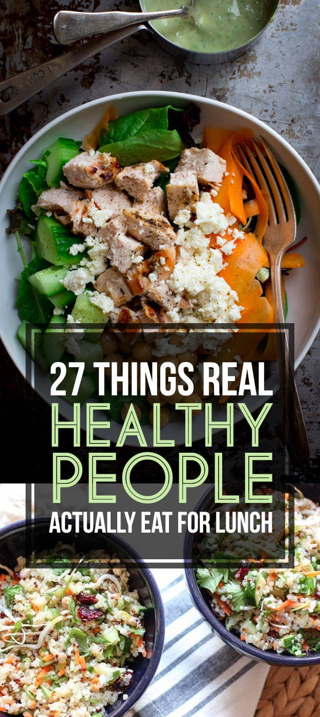 Heres what real healthy people actually eat for lunch share on facebook share forumfinder Gallery