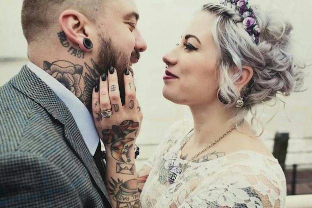 se ven bien con un vestido de novia