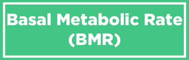 OK. So if you do want to figure out how many calories you should eat, a good place to start is by determining your basal metabolic rate, or BMR.