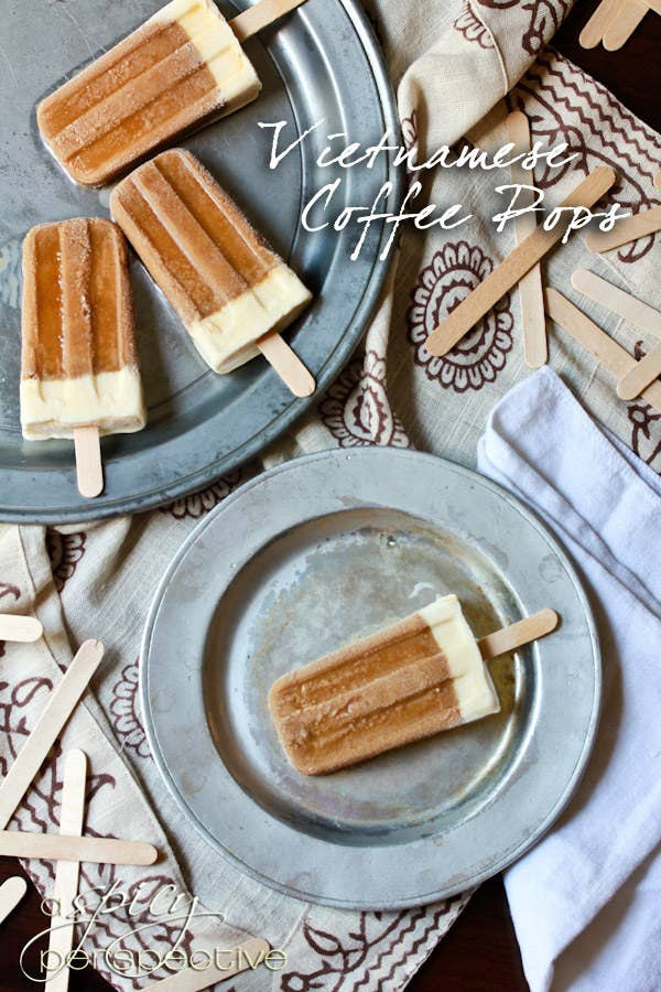 Who doesn't want their iced coffee on a stick? These popsicles are a fun and refreshing way to enjoy your bae (coffee, duh) on hot summer days.