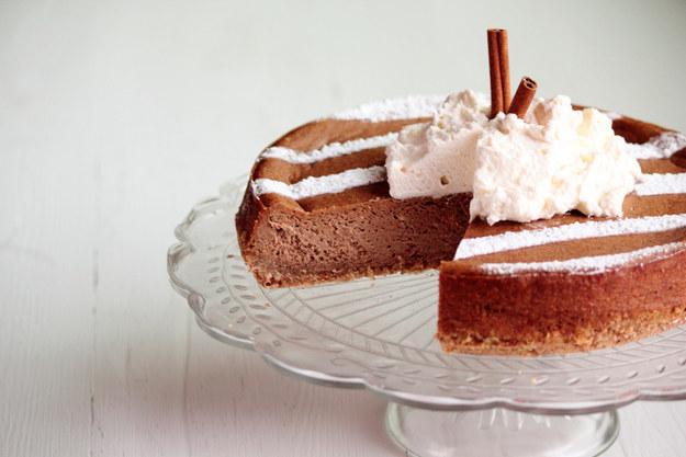 Pumpkin Spice Latte Cheesecake